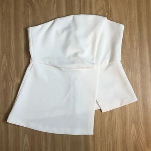Topshop Strapless Top